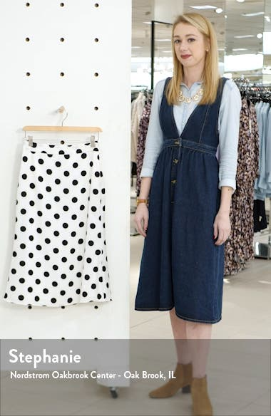 Polka Dot Midi Skirt, sales video thumbnail