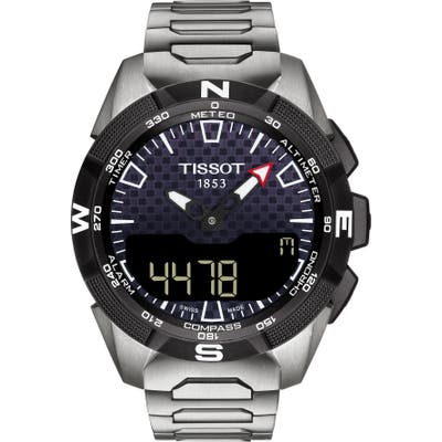 Tissot T-Touch Expert Solar Ii Multifunction Bracelet Watch, 45Mm