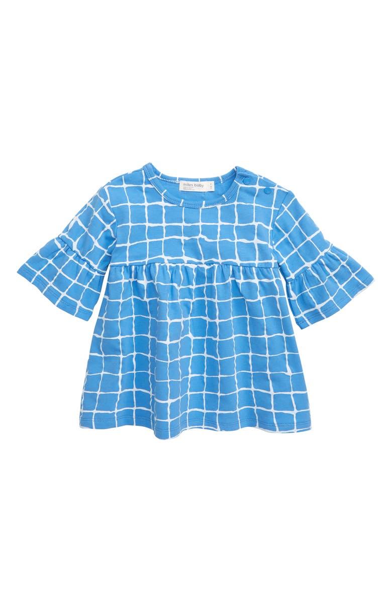 MILES BABY Print Knit Dress, Main, color, 400