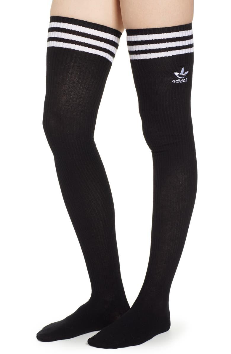 ADIDAS Over the Knee Socks, Main, color, 001