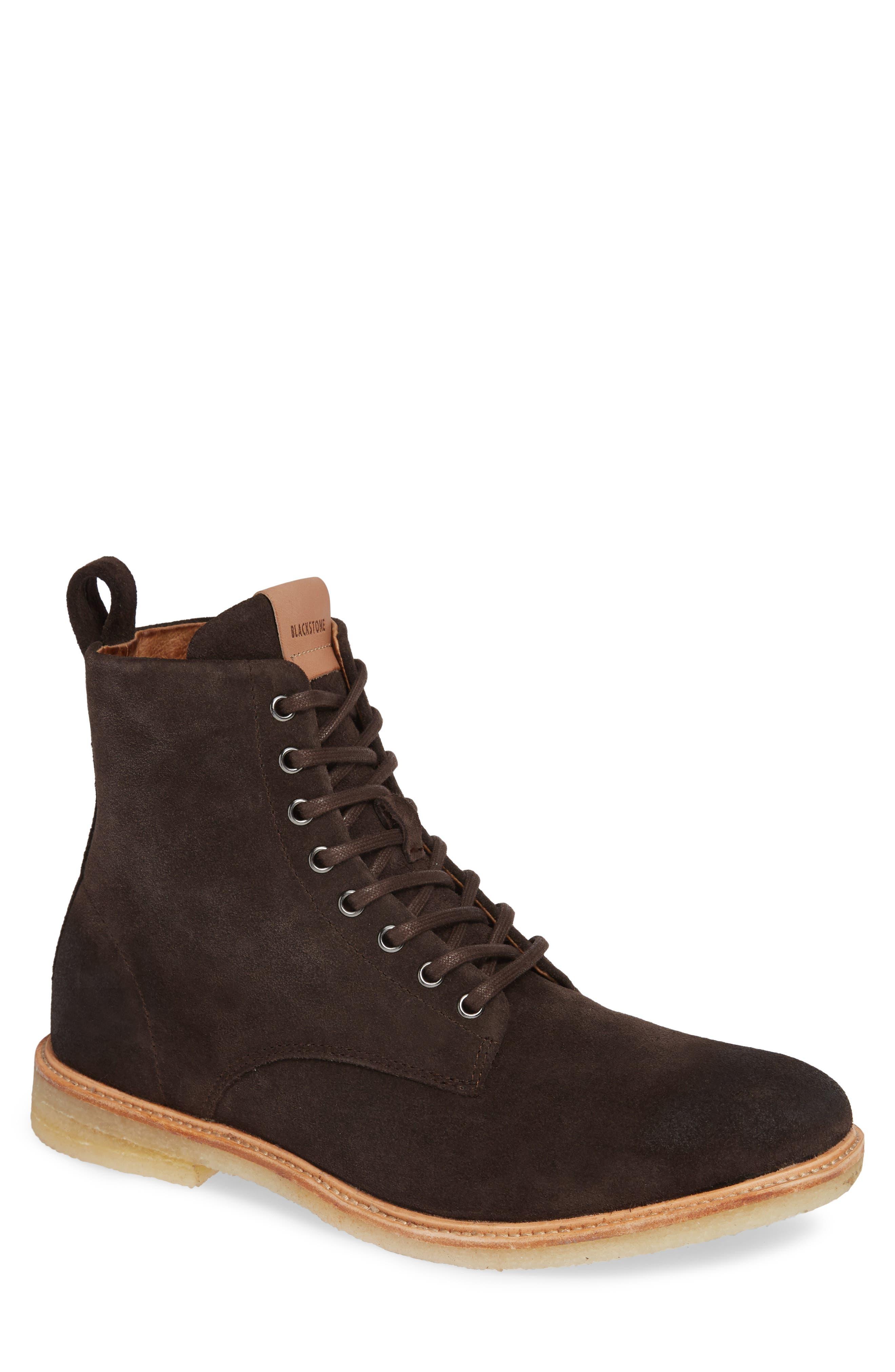 Blackstone Qm23 Plain Toe Boot, Brown