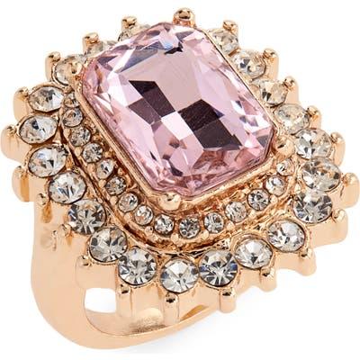 Bp. Crystal Cocktail Ring