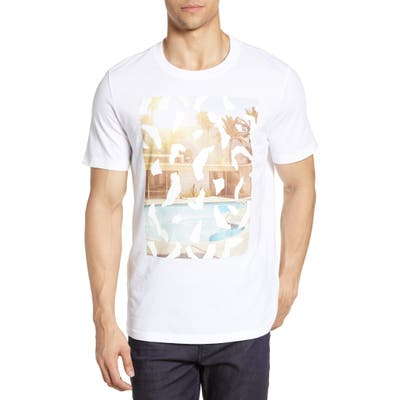 Boss Tpool1 Graphic T-Shirt, White