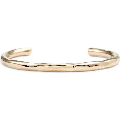 Allsaints Hammered Open Cuff Bracelet
