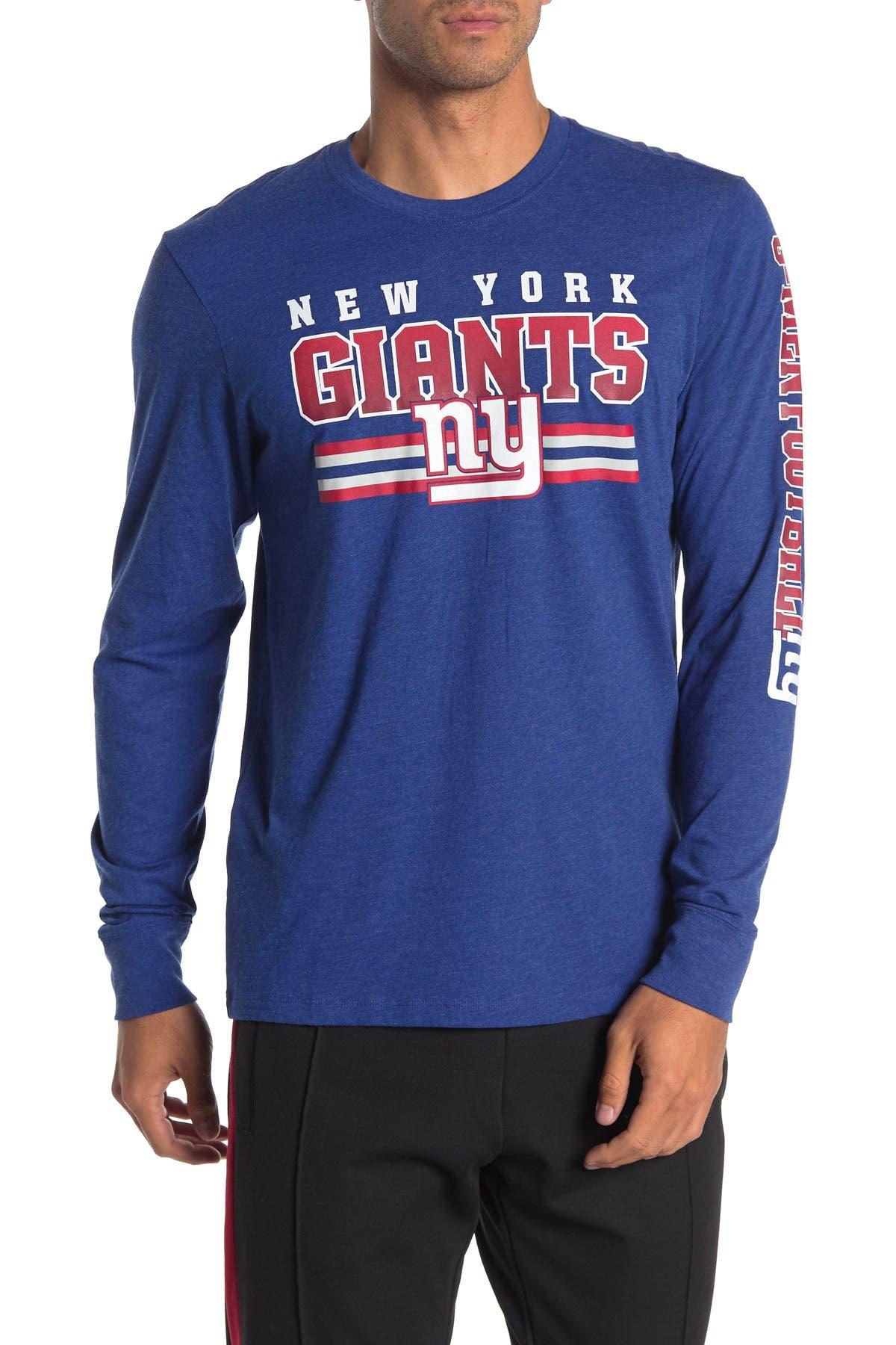 Image of 47 Brand NFL NY Giants Club Long Sleeve T-Shirt