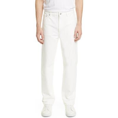 A.p.c. Martin Straight Leg Jeans, White