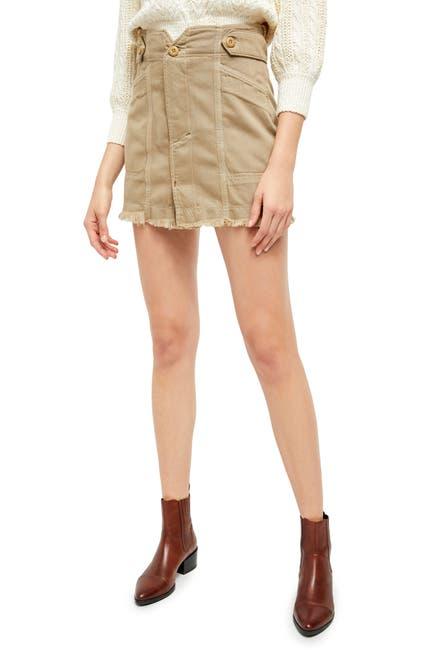 Image of Free People Alpha Utility Mini Skirt