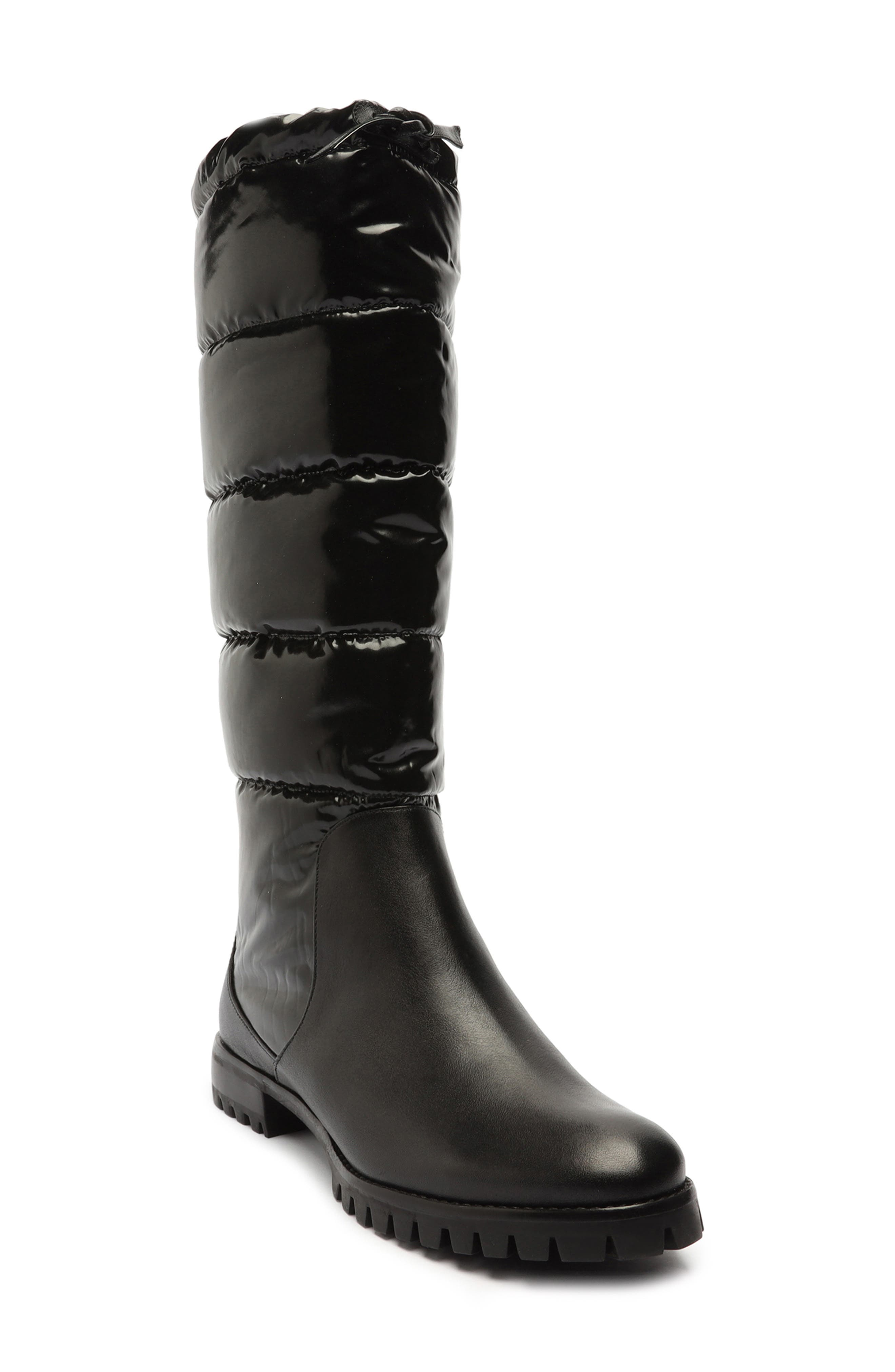 Clarita Puff Quilted Waterproof Boot