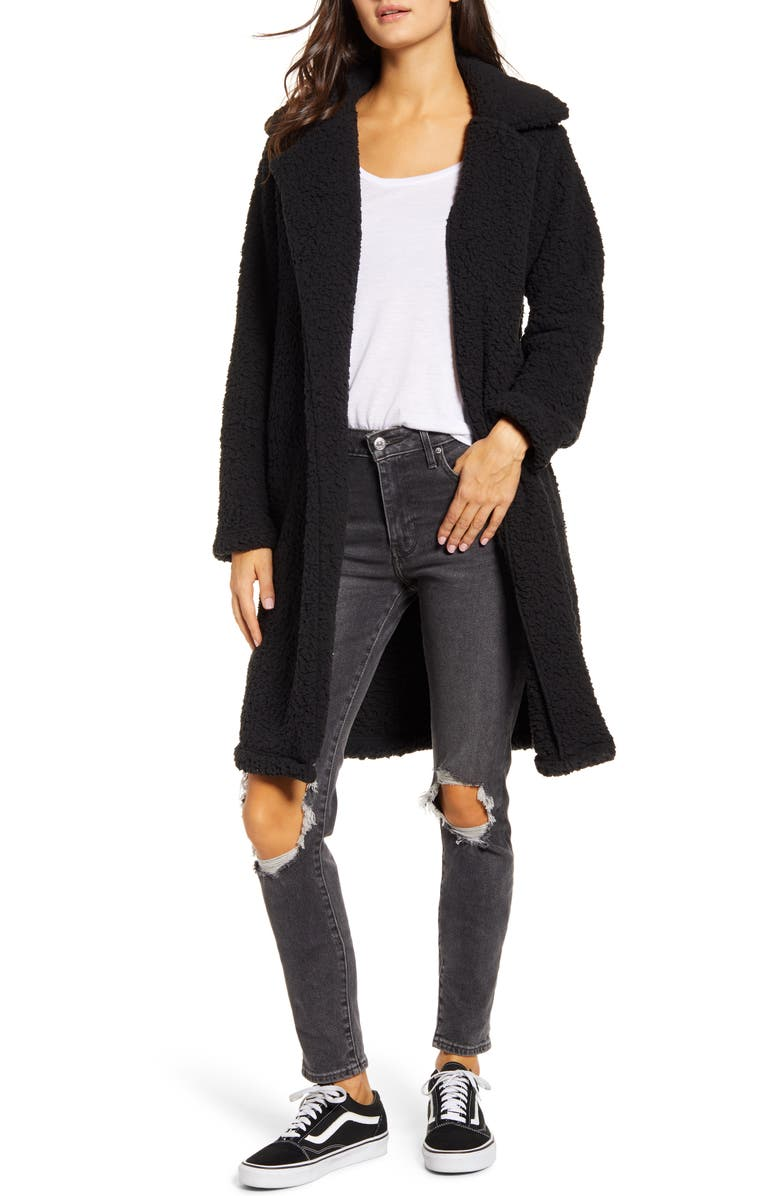BILLABONG Montreal Fleece Jacket, Main, color, BLACK