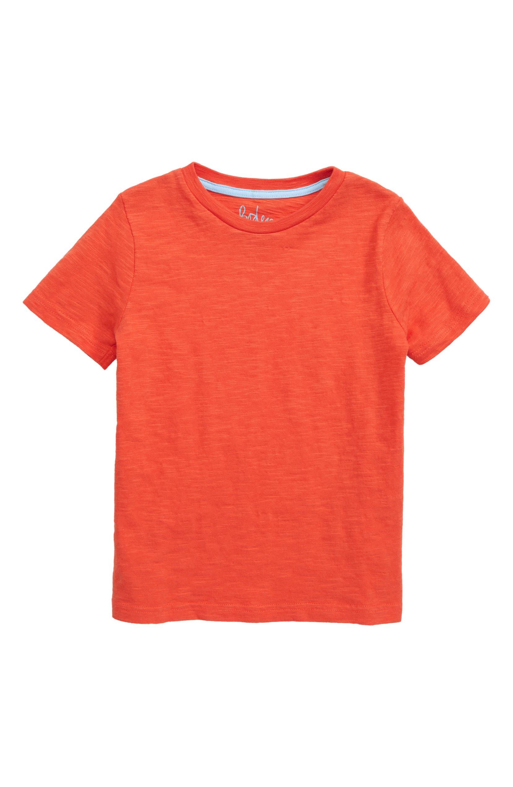 Mini Boden Stripe Slub Knit T Shirt Toddler Boys Little