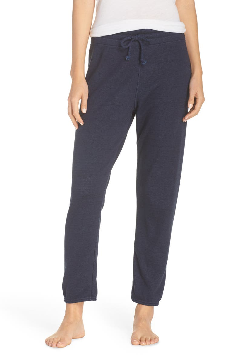 UGG<SUP>®</SUP> Valentene Jogger Pants, Main, color, NAVY HEATHER