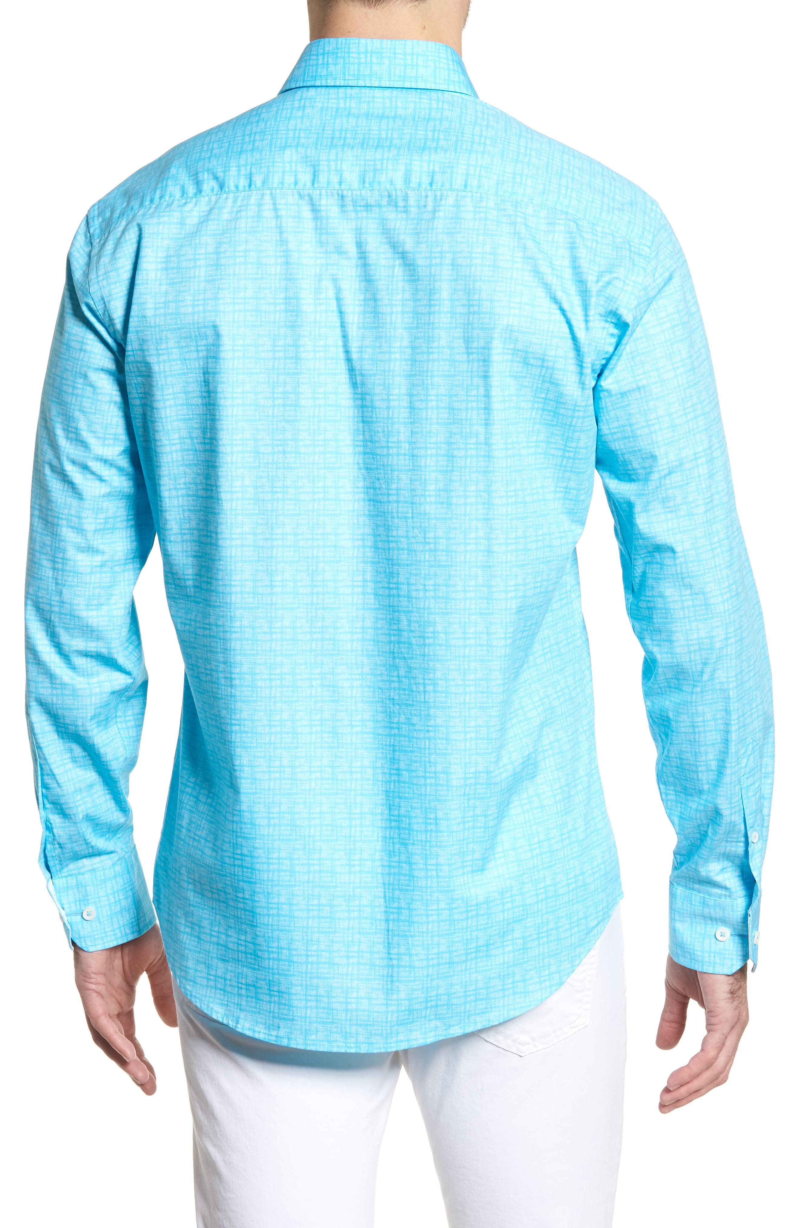 ,                             Shaped Fit Freehand Sport Shirt,                             Alternate thumbnail 8, color,                             315