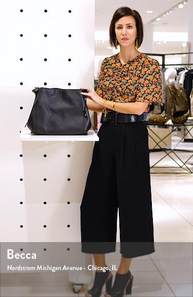 Dalton 31 Pebbled Leather Shoulder Bag, sales video thumbnail