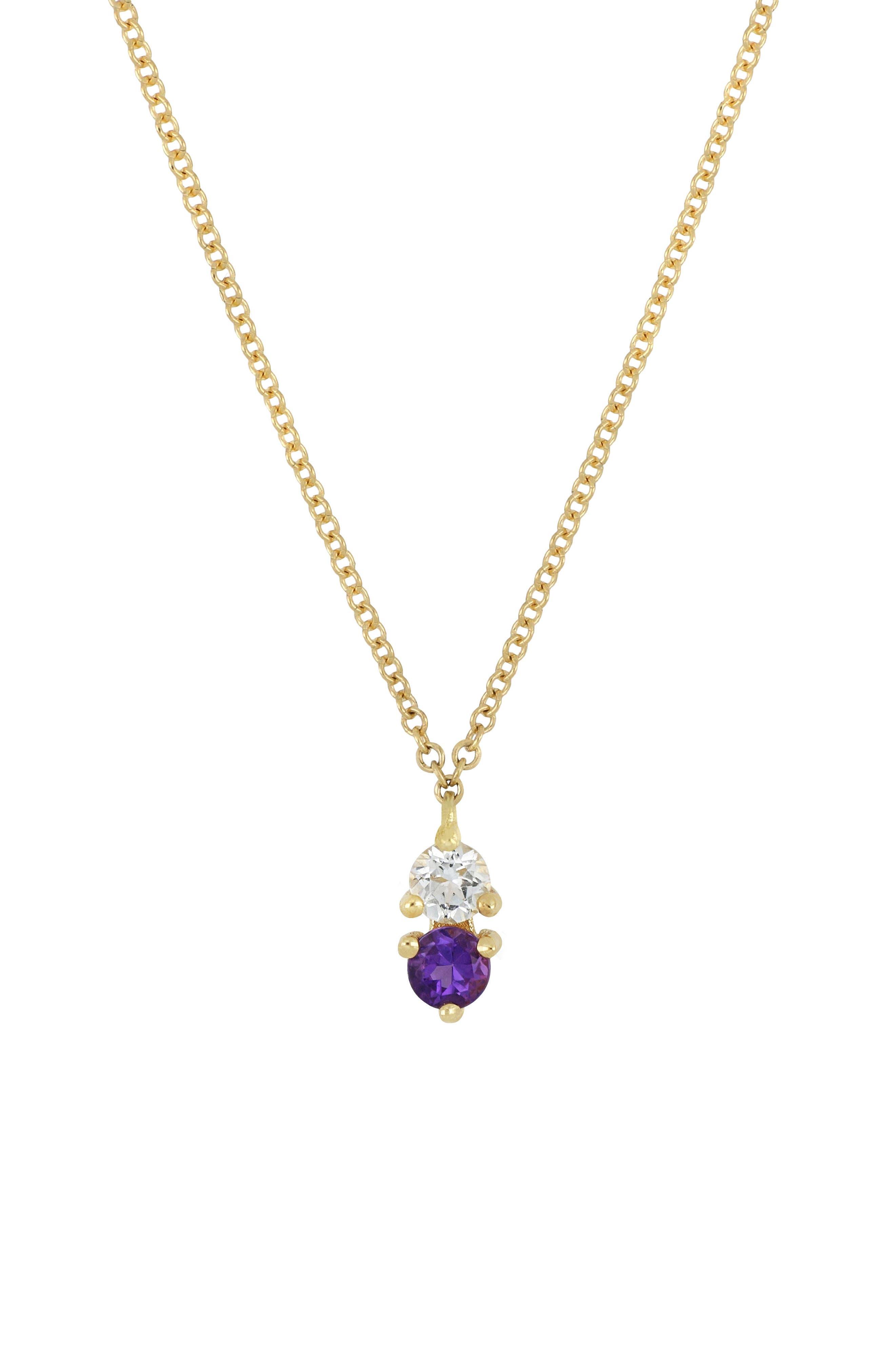 ,                             Birthstone Pendant Necklace,                             Main thumbnail 15, color,                             500