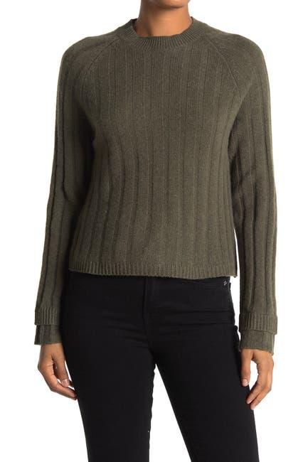 Image of 360 Cashmere Tatia Layered Cuff Cashmere Sweater