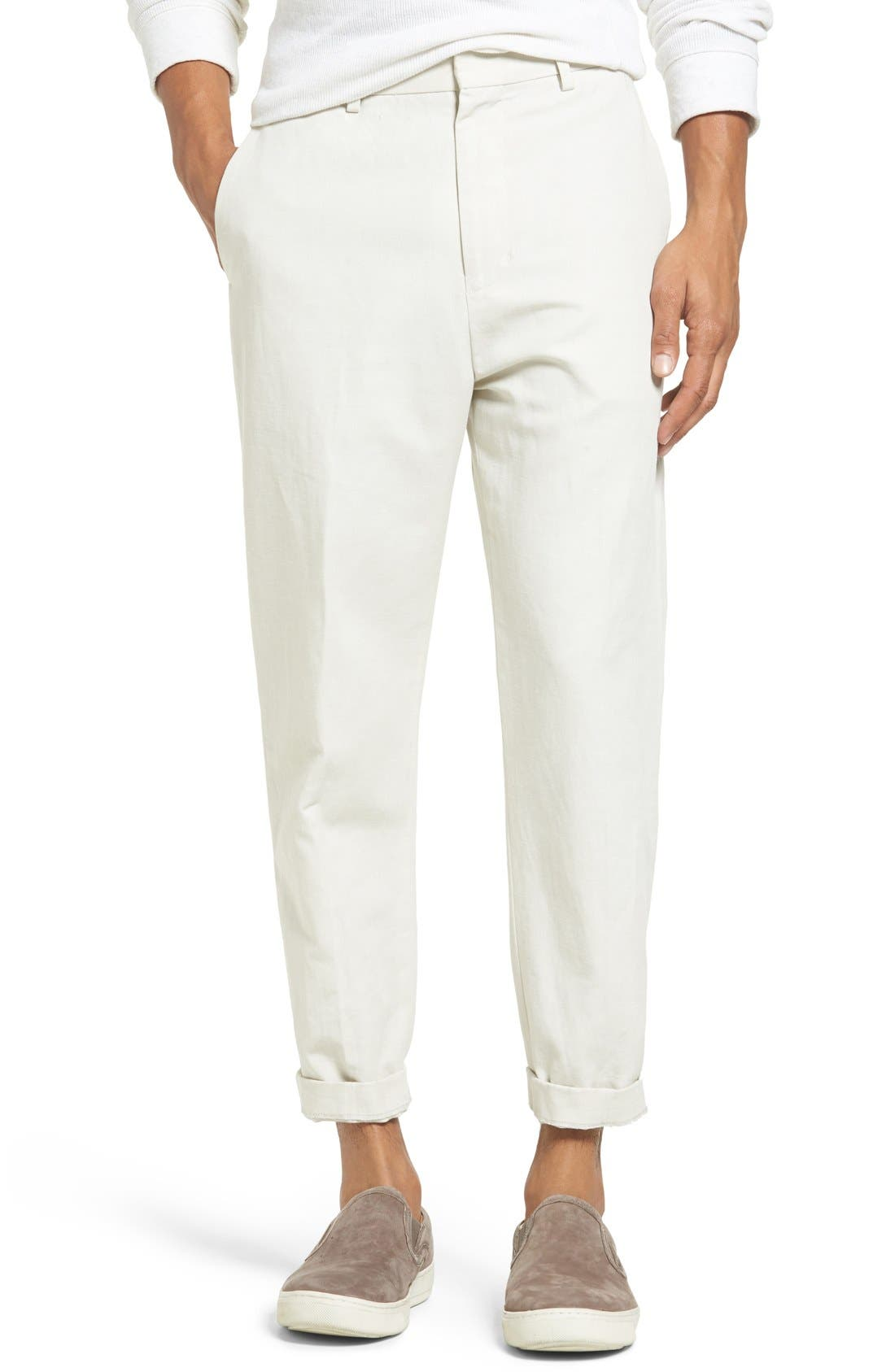 Image of Vince Relaxed Cropped Trousers