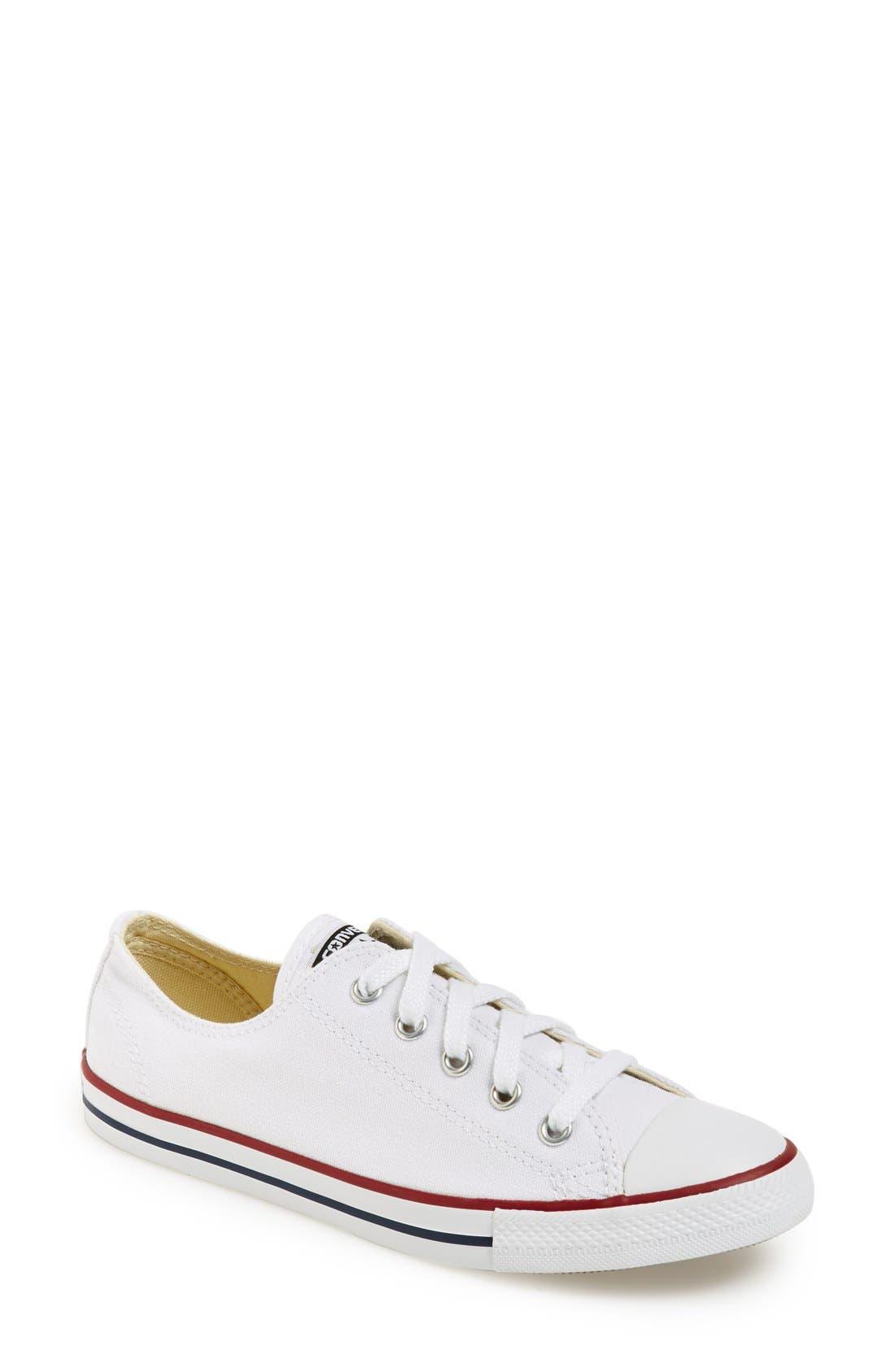 ,                             Chuck Taylor<sup>®</sup> 'Dainty' Sneaker,                             Main thumbnail 13, color,                             100