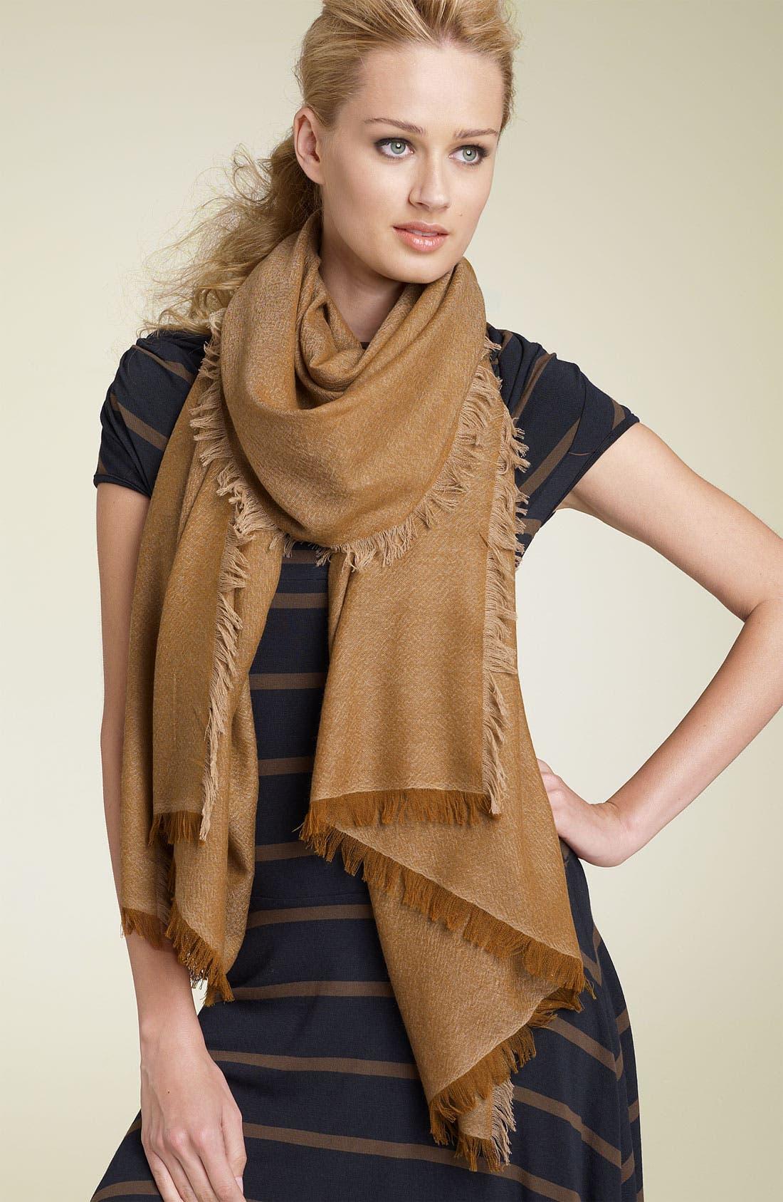 ,                             'Eyelash' Colorblock Cashmere Wrap,                             Main thumbnail 22, color,                             252