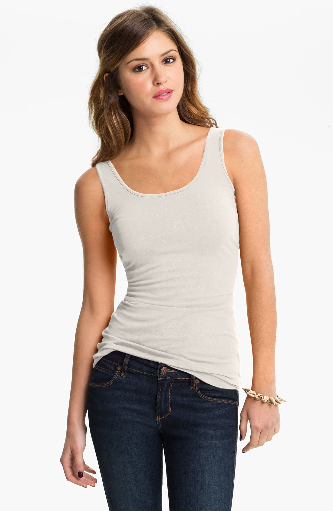 ,                             Double Scoop Neck Tank,                             Main thumbnail 63, color,                             032