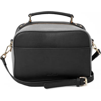 Urban Originals Love Bird Faux Leather Satchel - Black