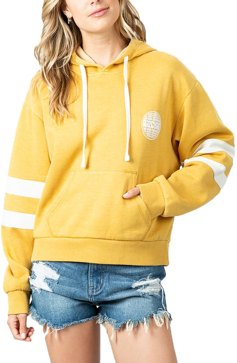 RIP CURL Aloha Experience Hoodie, Main, color, MUSTARD