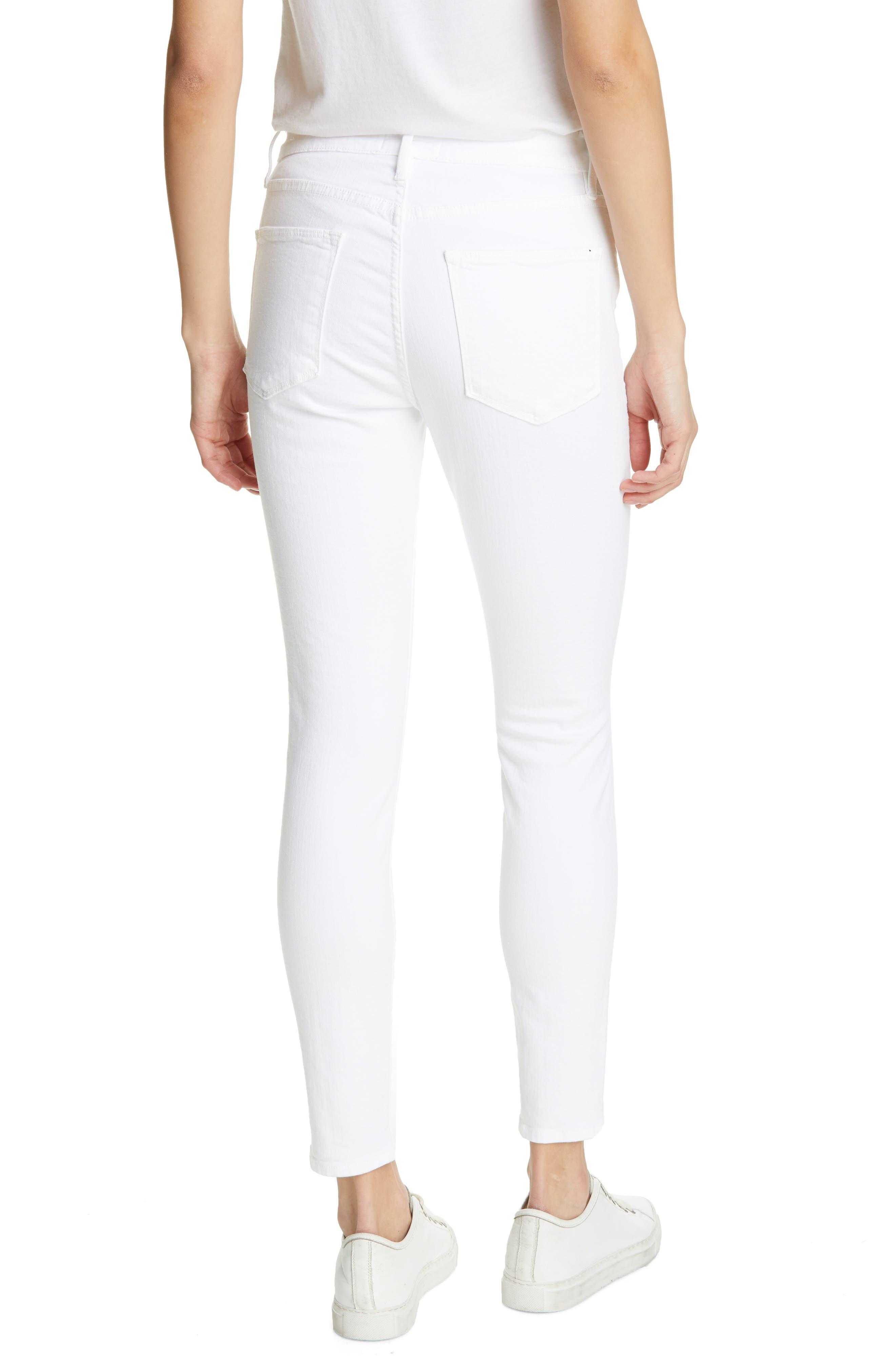Frame Jeans High Waist Ankle Skinny Jeans