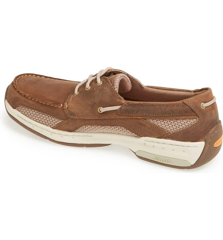 DUNHAM 'Captain' Boat Shoe, Main, color, TAN