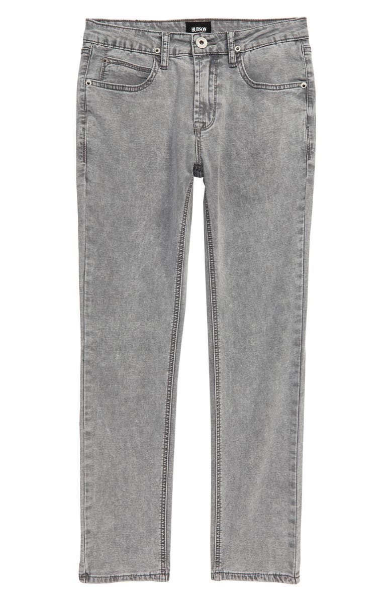 HUDSON JEANS Jagger Slim Straight Leg Jeans, Main, color, SILVER