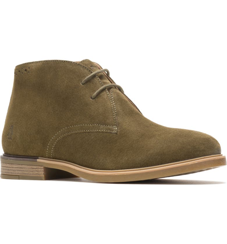 HUSH PUPPIES<SUP>®</SUP> Bailey Chukka Boot, Main, color, OLIVE SUEDE