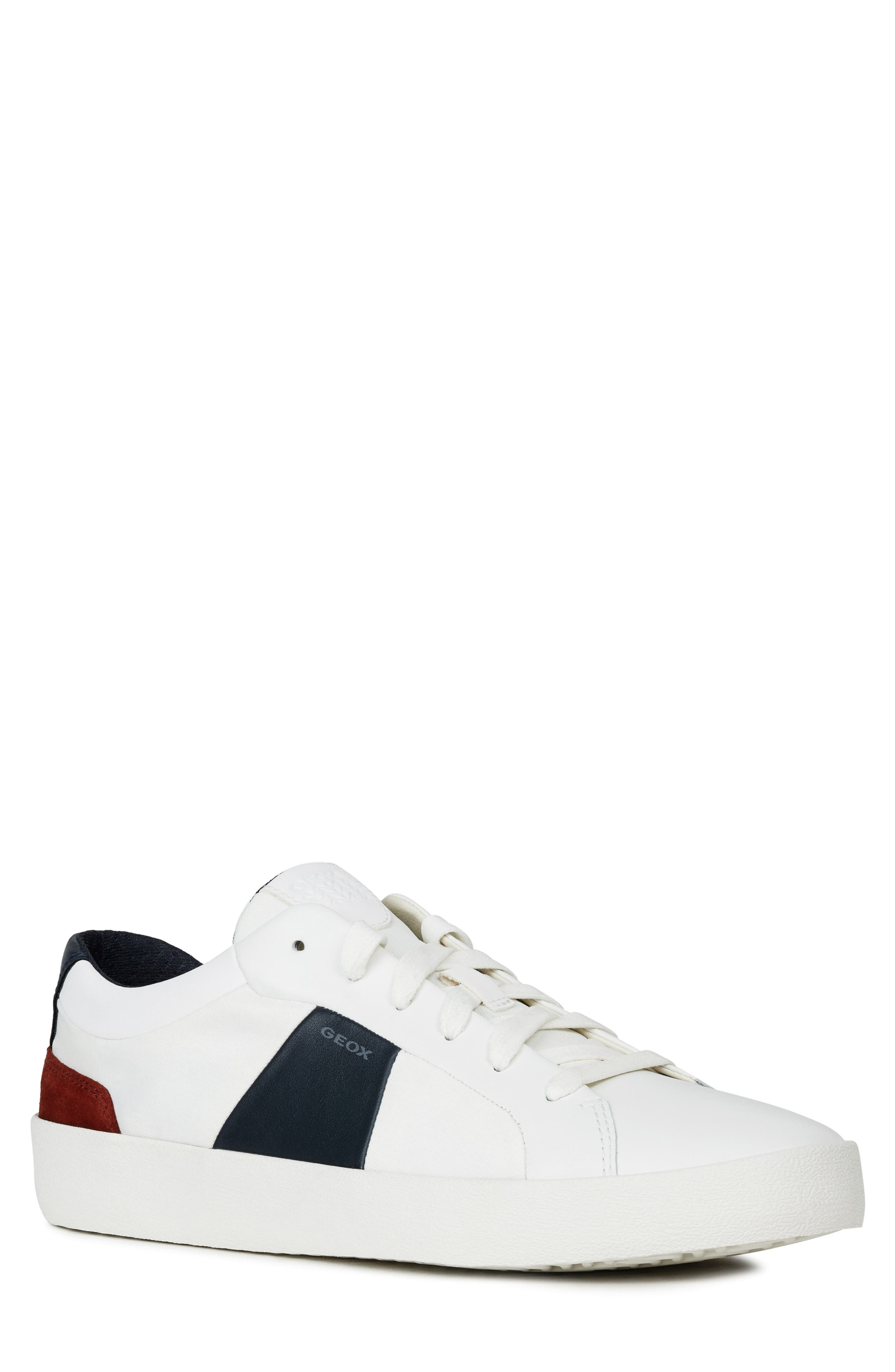 Image of GEOX Warley 2 Leather Sneaker