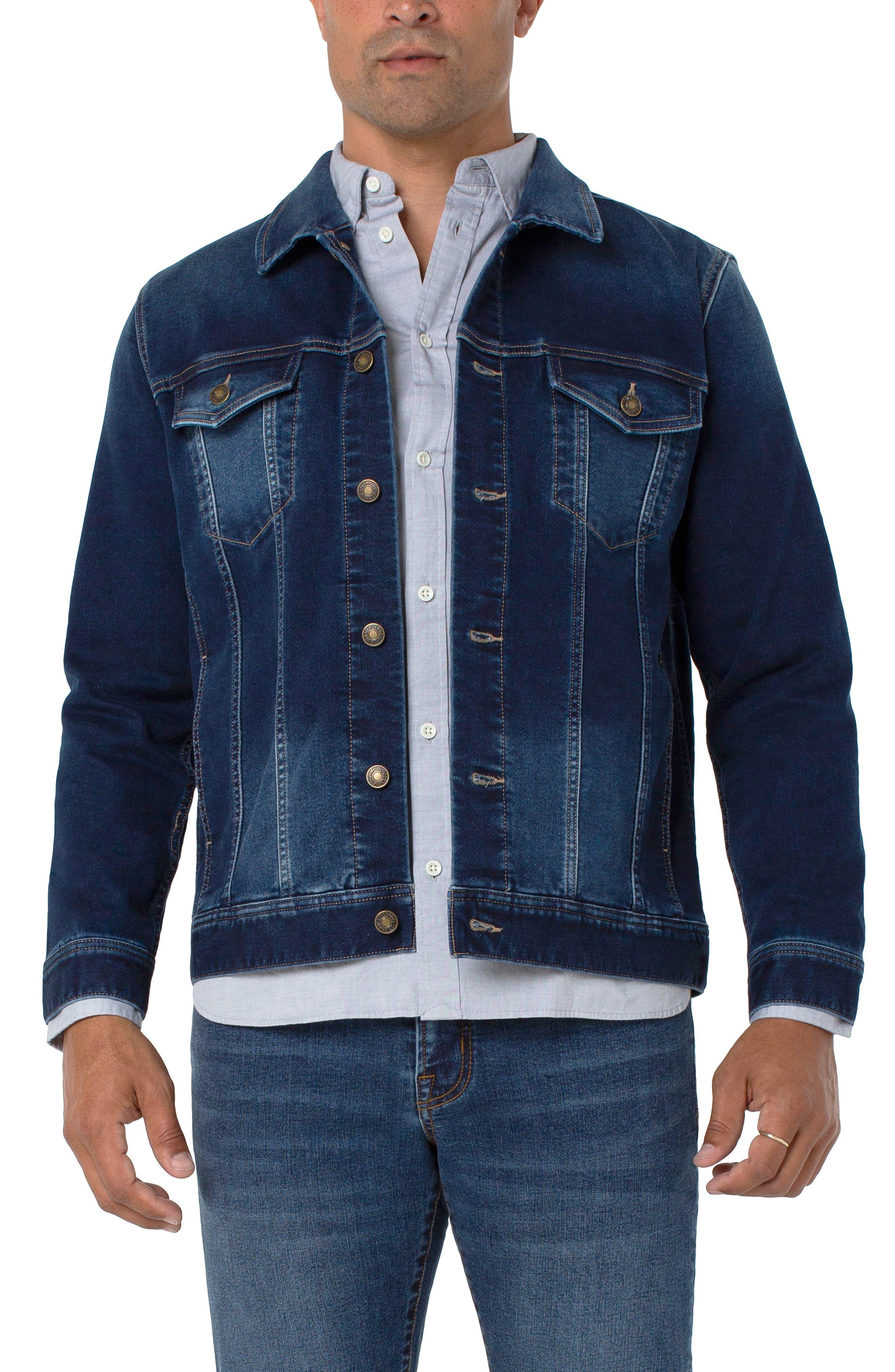 Men's Liverpool Stretch Denim Jacket
