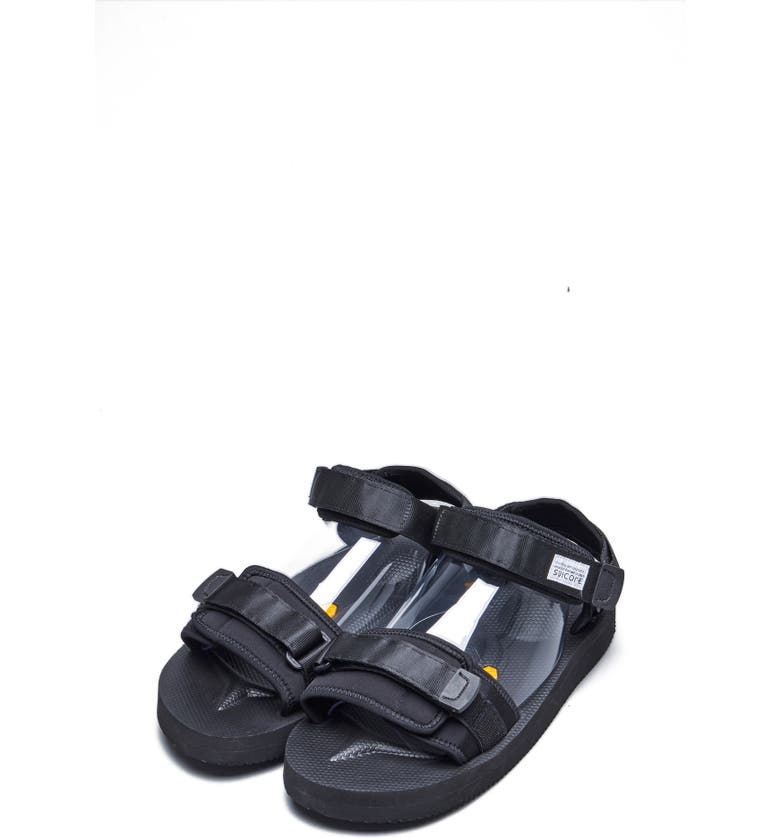 SUICOKE Cel-V Sandal, Main, color, BLACK
