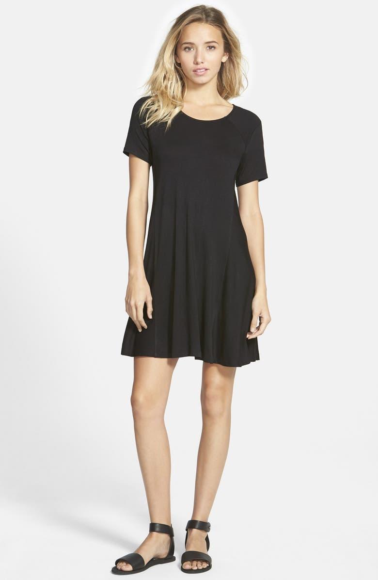 --- Paneled Shift Dress, Main, color, 002