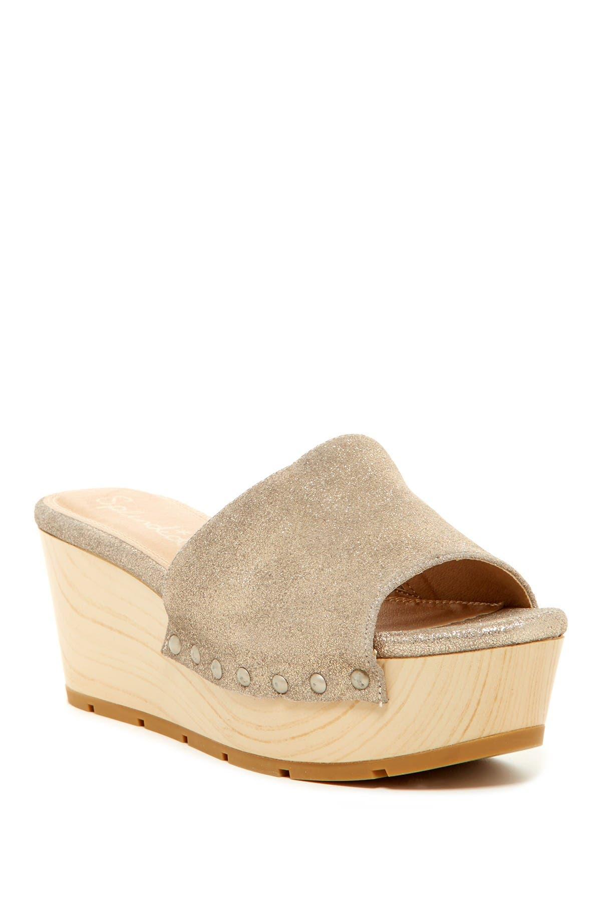 Image of Splendid Lana Platform Slide Sandal