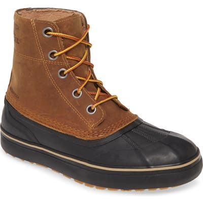 Sorel Cheyanne Metro Waterproof Duck Boot- Brown