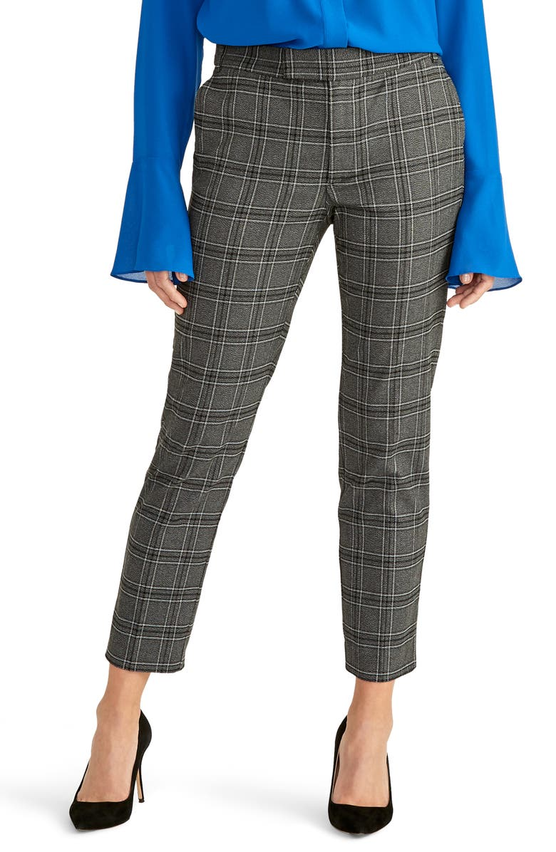 RACHEL ROY COLLECTION Plaid Skinny Pants, Main, color, 065