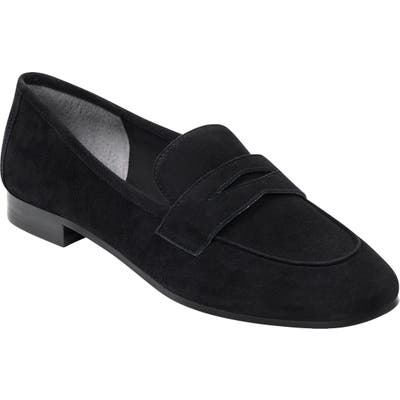 Marc Fisher Ltd Chang Penny Loafer, Black