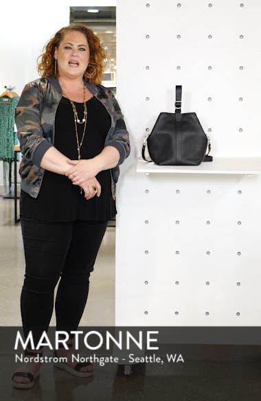 Sasha Leather Crossbody Bag, sales video thumbnail