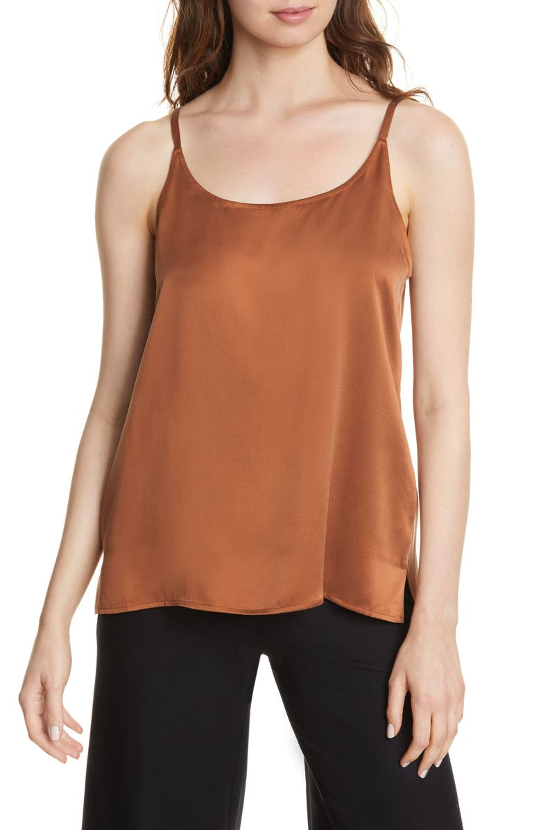 EILEEN FISHER Silk Camisole, Main, color, 200