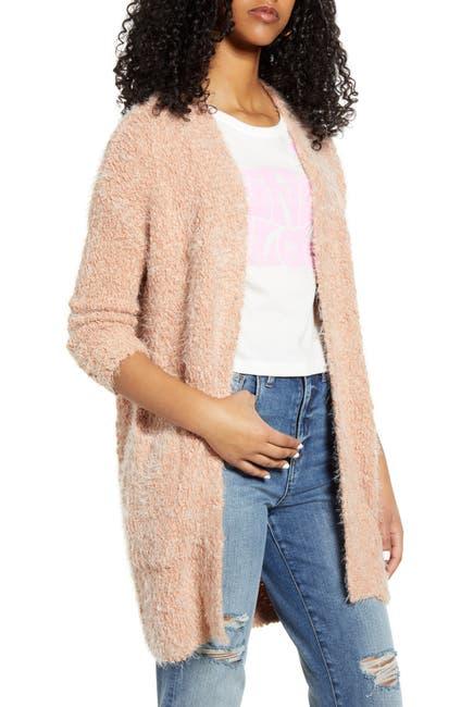Image of LIRA CLOTHING Miranda Fuzzy Knit Cardigan