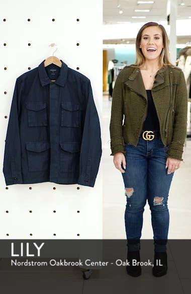 Four-Pocket Slim Fit Military Jacket, sales video thumbnail