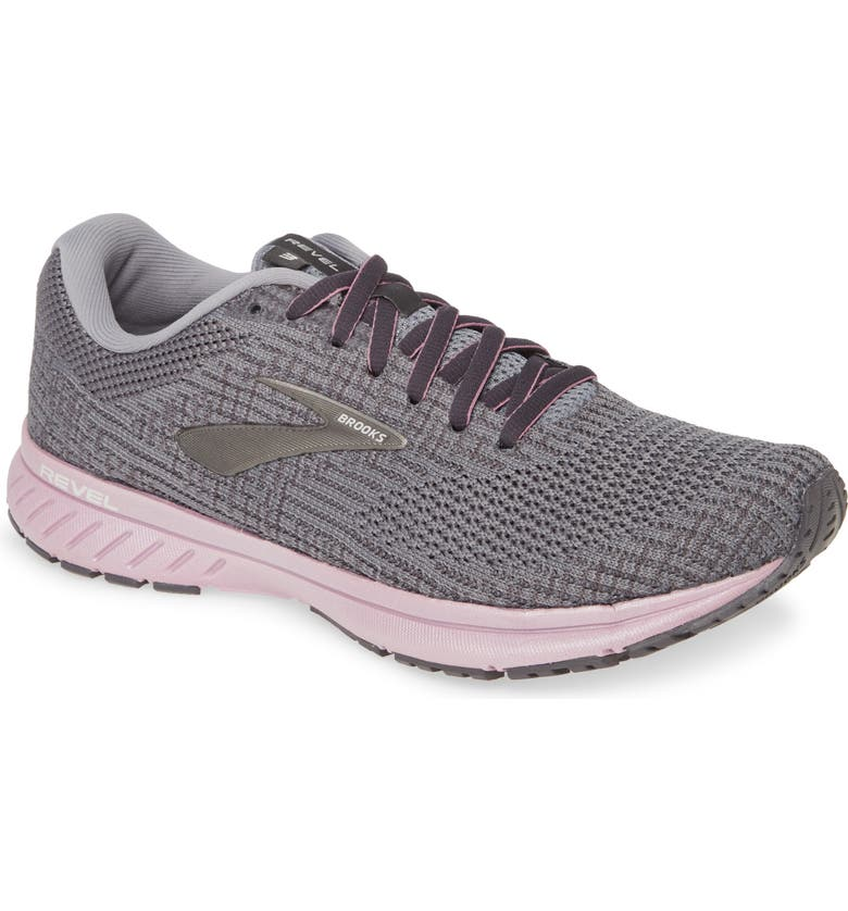 BROOKS Revel 3 Running Shoe, Main, color, PRIMER/ BLACKENED PEARL/ FROST
