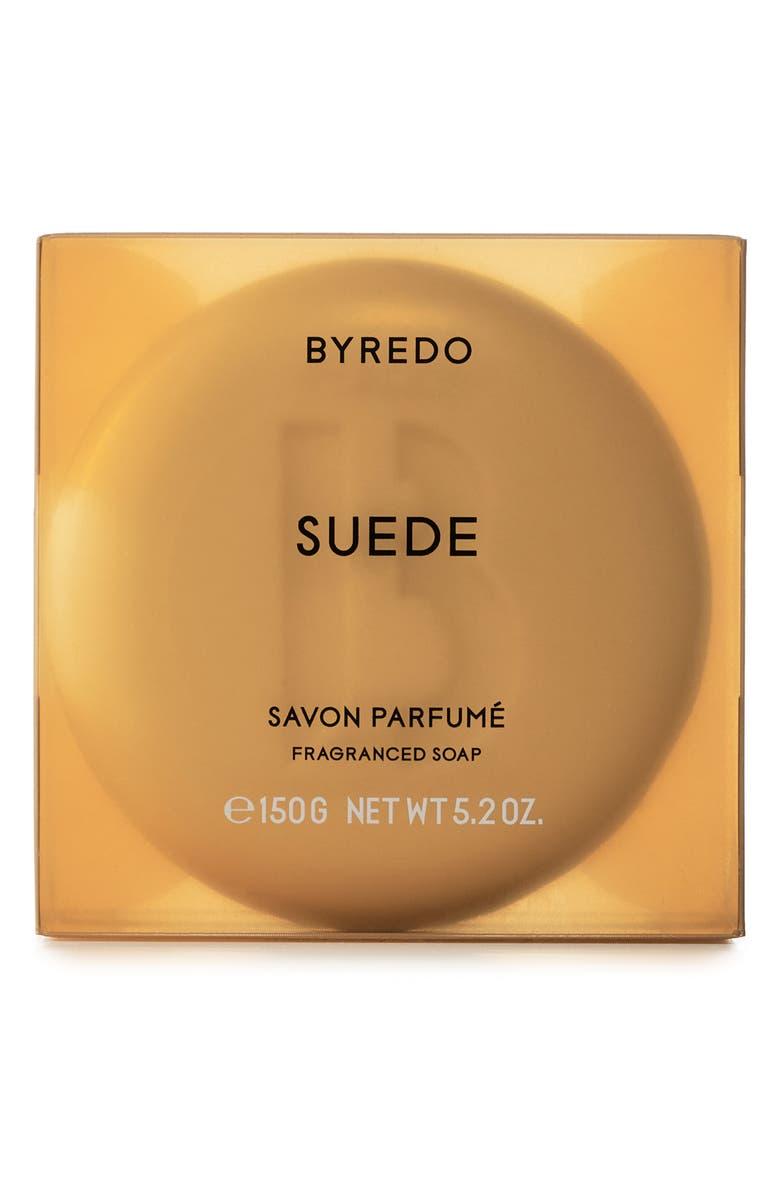 BYREDO Suede Soap Bar, Main, color, NO COLOR