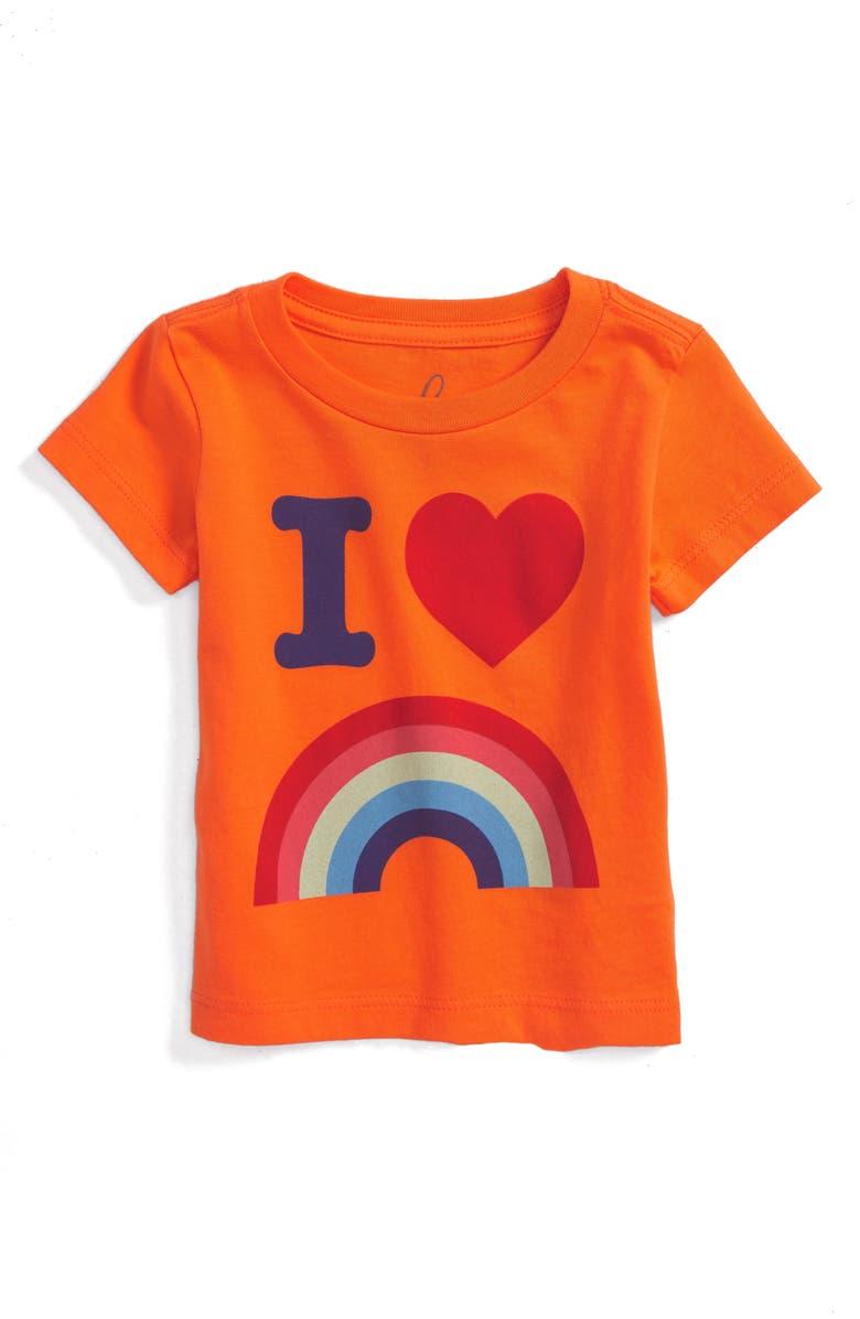 PEEK ESSENTIALS Peek Rainbow Graphic T-Shirt, Main, color, 800