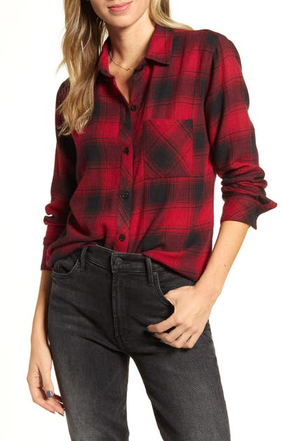 Rails Tops HUNTER PLAID SHIRT