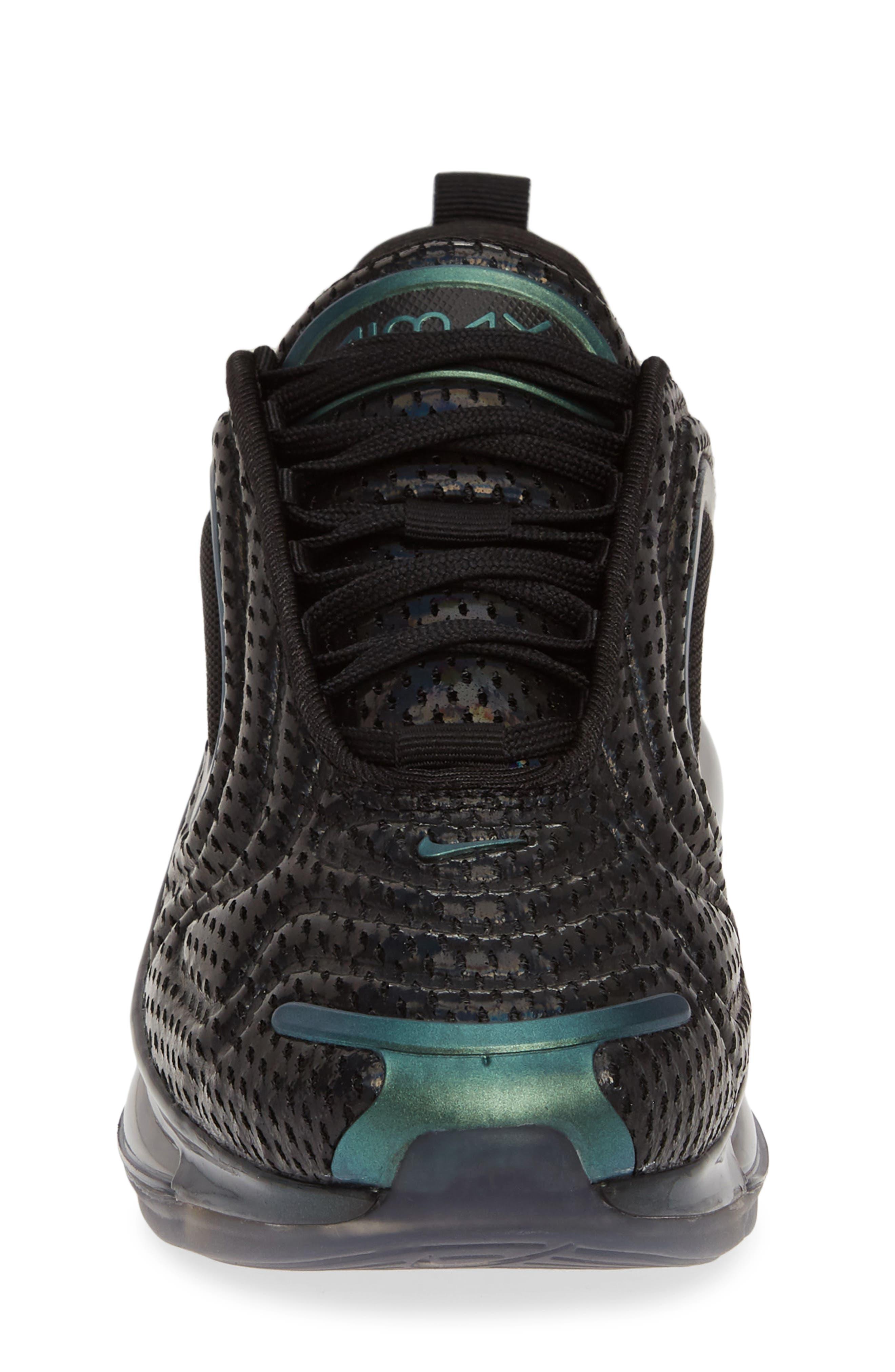 ,                             Air Max 720 Sneaker,                             Alternate thumbnail 4, color,                             BLACK/ FUCHSIA-ANTHRACITE