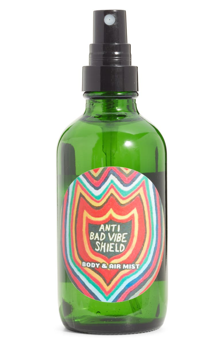 WILD YONDER BOTANICALS x Ozzy Wright Anti Bad Vibe Shield Body & Air Mist, Main, color, NO COLOR