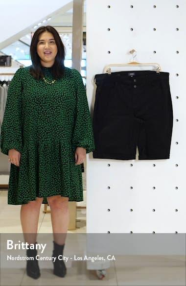 Briella Roll Cuff Bermuda Shorts, sales video thumbnail