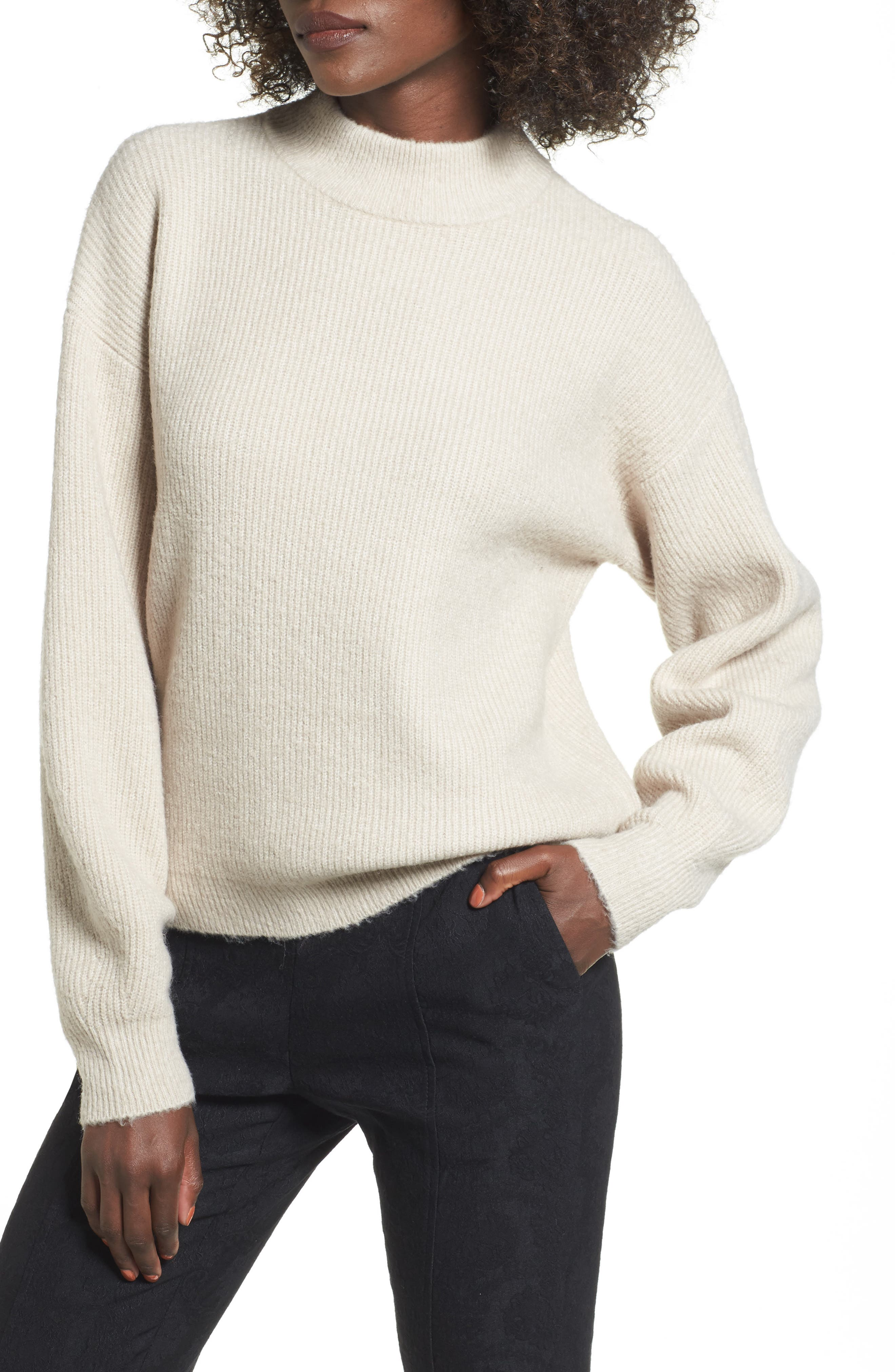 Cozy Ribbed Pullover, Main, color, 050