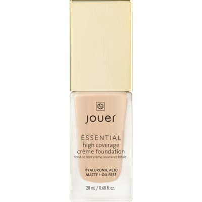 Jouer Essential High Coverage Creme Foundation - Biscuit